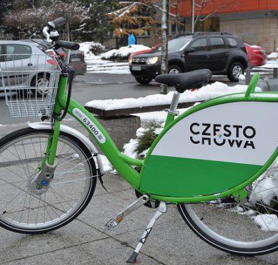 Można już wypożyczyć Częstochowski Rower Miejski
