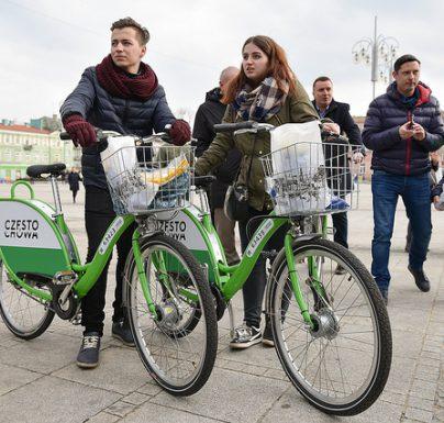Mocny start Częstochowskiego Roweru Miejskiego