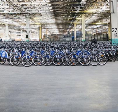 (Polski) Miliony kilometrów przejechanych na rowerach miejskich Nextbike Polska