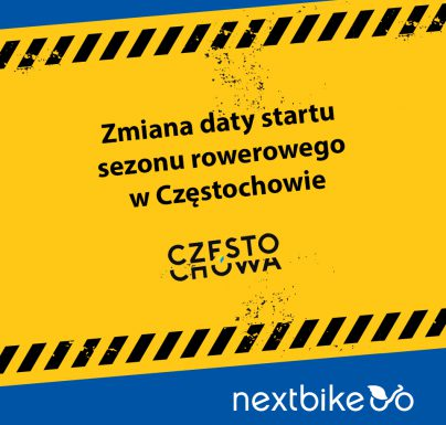 (Polski) Komunikat – przełożony start roweru miejskiego