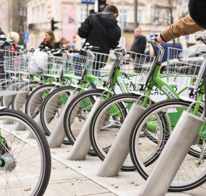 (Polski) Dzień bez samochodu na rowerach miejskich w Częstochowie: pierwsza godzina za darmo