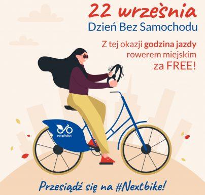 (Polski) Dzień Bez Samochodu na rowerach miejskich!